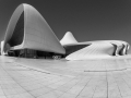 2. Platz Projektion SW Heydar Aliyev Center Baku * Georg Köves